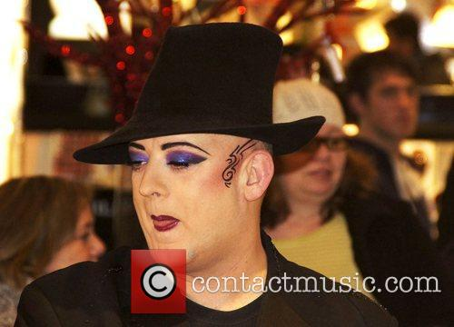 Boy George performing at Selfridges for The Sophie...