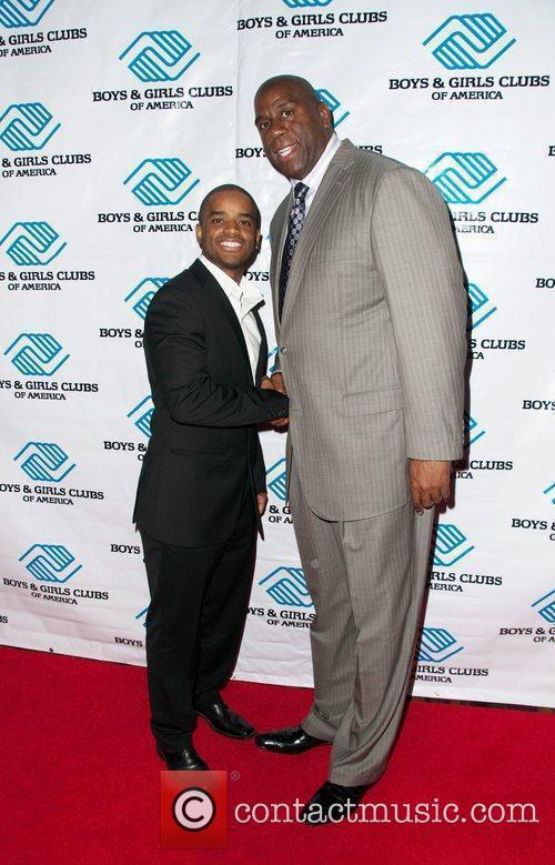 Earvin Magic Johnson and Larez Tate The Boys...
