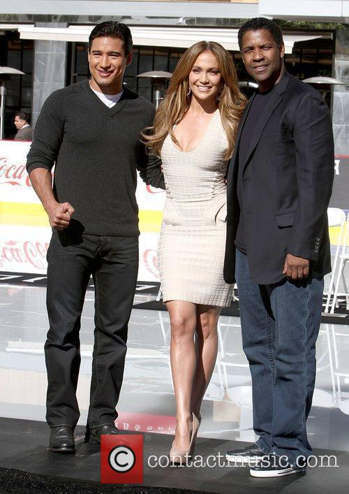 Mario Lopez, Denzel Washington and Jennifer Lopez 3