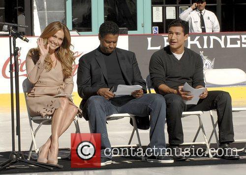 Jennifer Lopez, Denzel Washington, Mario Lopez