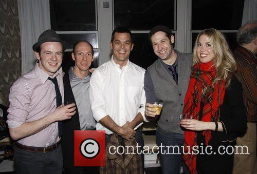 The opening night party for Mart Crowley's 'The...