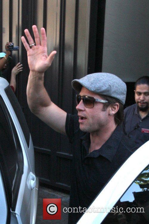 Brad Pitt and Shiloh 6
