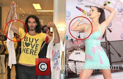 file photo Perry Branded with matching tattoo KATY...