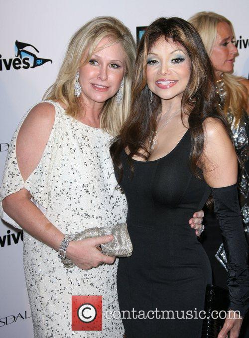 Kathy Hilton and LaToya Jackson Bravo's 'The Real...