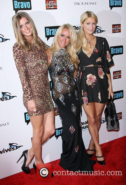 Nicky Hilton, Kim Richards and Paris Hilton...