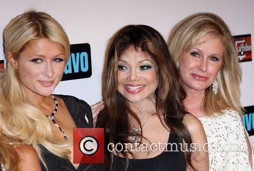 Paris Hilton, Kathy Hilton, La Toya Jackson and Real Housewives 4