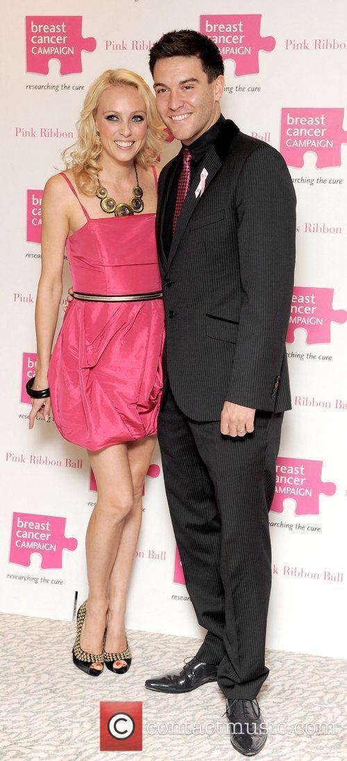 Camilla Dallerup and Kevin Sacre Pink Ribbon Ball...