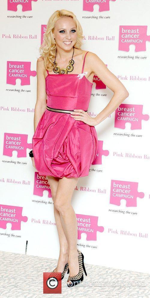 Camilla Dallerup Pink Ribbon Ball 2010, held at...