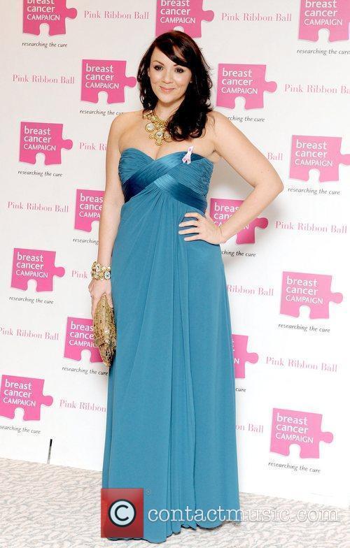Martine McCutcheon Pink Ribbon Ball 2010, held at...