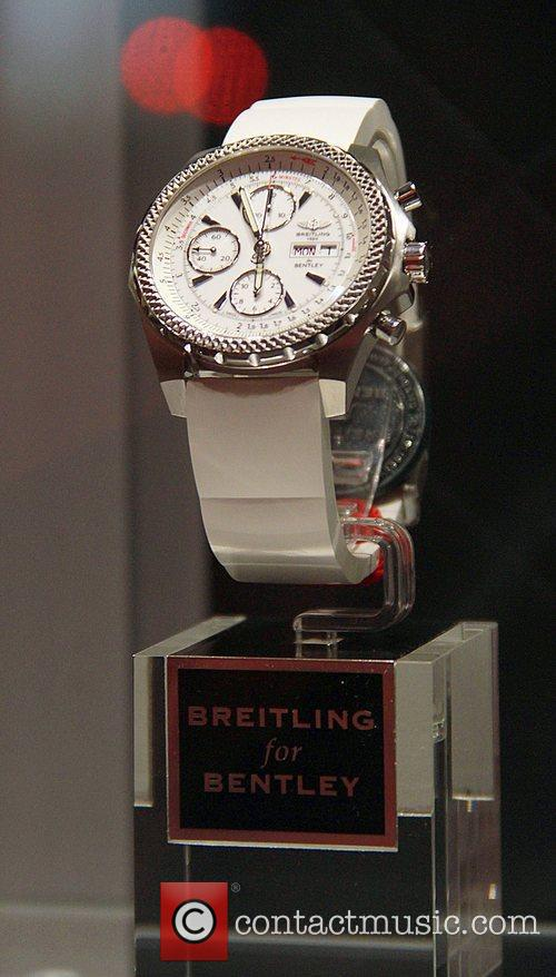 Atmosphere Breitling Flagship Boutique opening at 5th Avenue...