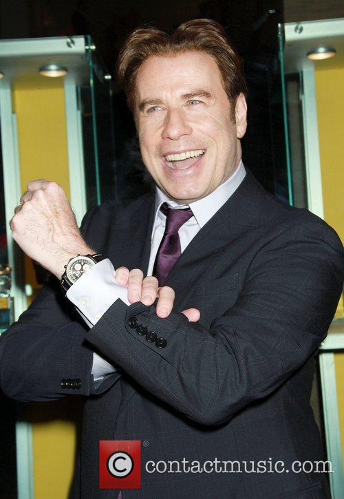 John Travolta Breitling Flagship Boutique opening at 5th...