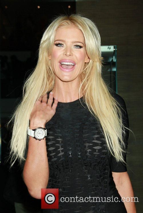 Victoria Silvstedt Breitling Flagship Boutique opening at 5th...
