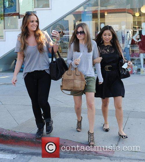 Brenda Song leaving Kitson after shopping with friends...