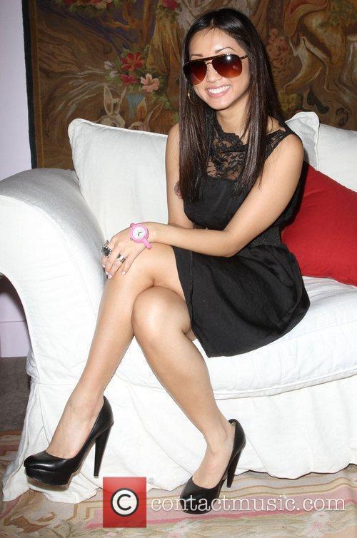 Brenda Song visits Gifitng Services held at Gifting...