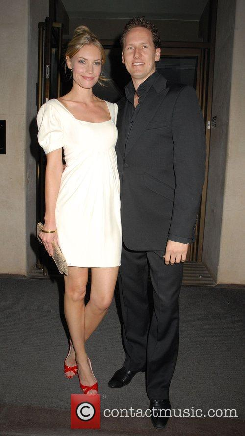 Brendan Cole and Zoe Hobbs leaving the May...