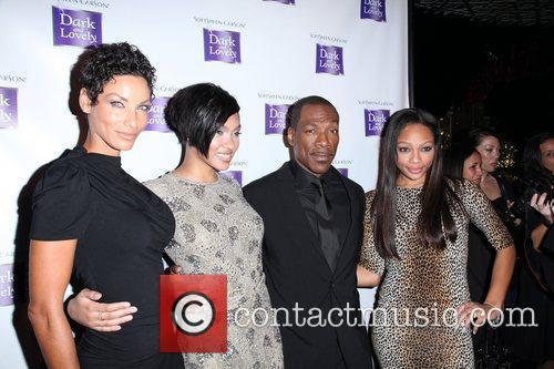 Nicole Murphy, Bria Murphy and Eddie Murphy 2