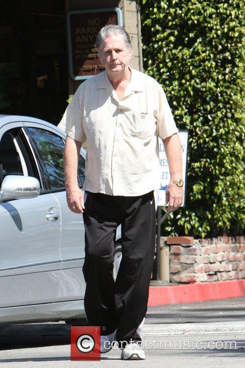 Brian Wilson seen leaving the Beverly Glen, his...