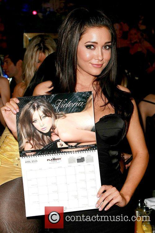 Victoria (Miss April) The Miss Playboy Club model...