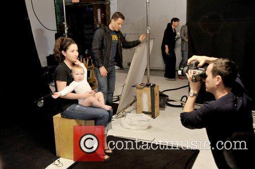 Bristol Palin and her son, Tripp Easton Mitchell...