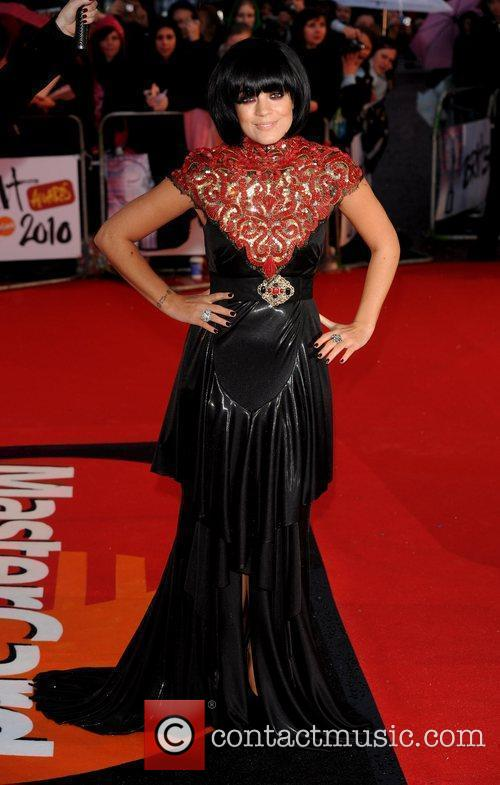 Lily Allen The BRIT Awards 2010 - 30th...