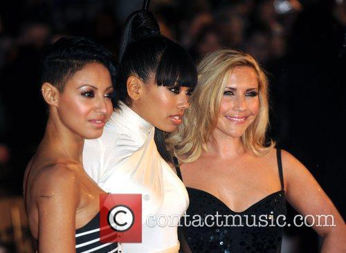 Amelle Berrabah, Jade Ewen and Heidi Range The...