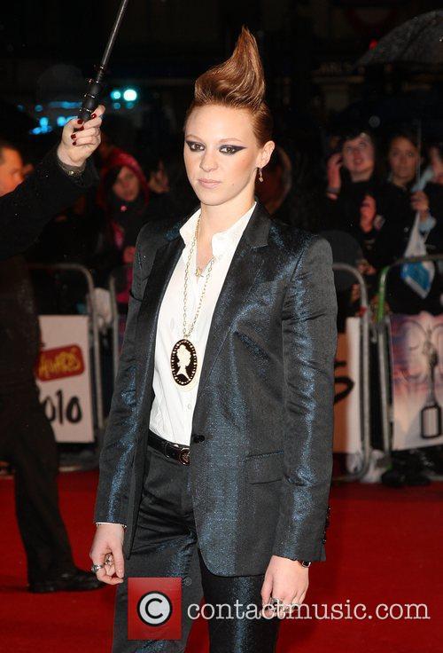 Eleanor Jackson from La Roux The BRIT Awards...