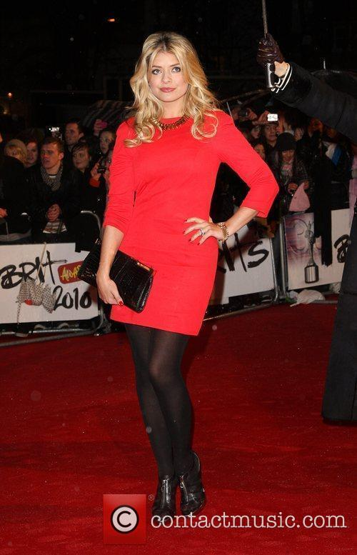 Holly Willoughby The BRIT Awards 2010 - 30th...