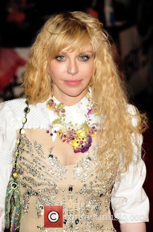 Courtney Love The BRIT Awards 2010 - 30th...