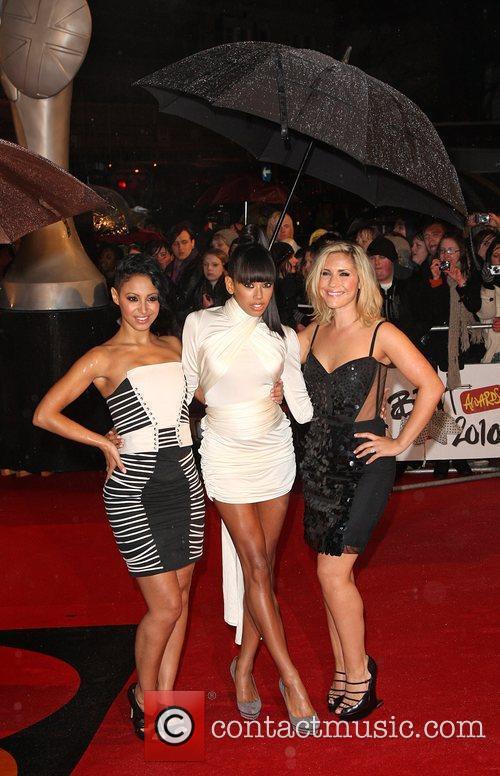 Amelle Berrabah, Jade Ewen, Heidi Range of the...
