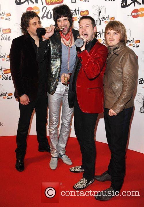 Kasabian  The BRIT Awards 2010 - 30th...