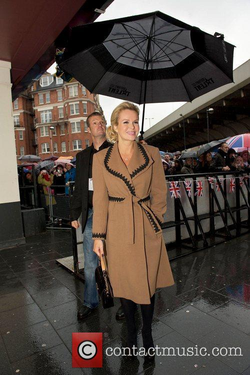 Amanda Holden arriving at the 'Britain's Got Talent'...