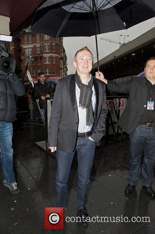 Louis Walsh arriving at the 'Britain's Got Talent'...