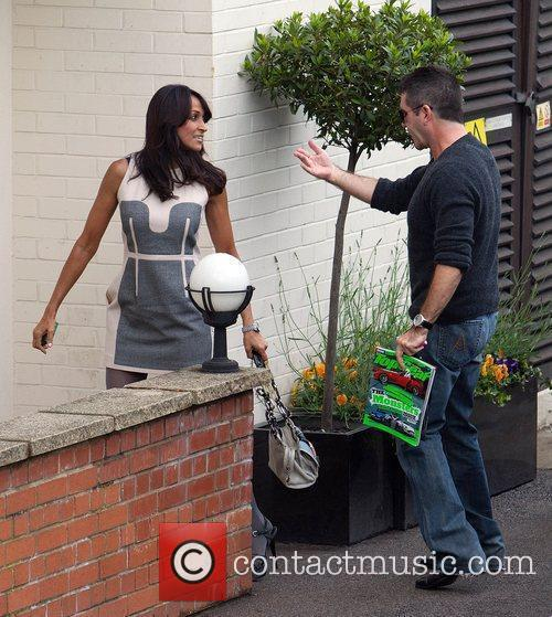 Simon Cowell and fiance Mezhgan Hussainy The 'Britain's...