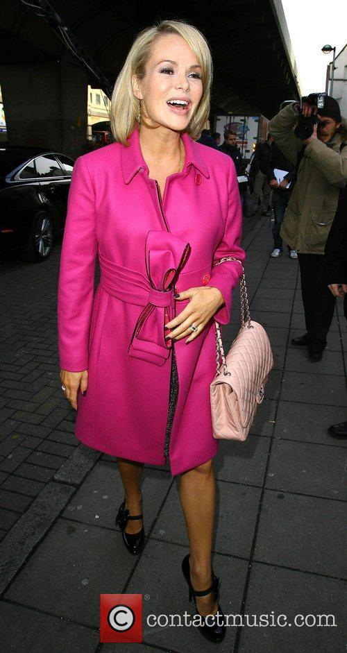 Arriving at the 'Britain's Got Talent' auditions