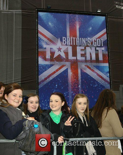 At the 'Britain's Got Talent' auditions