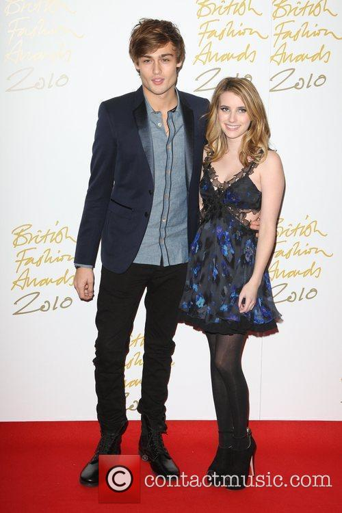 Douglas Booth and Emma Roberts 1
