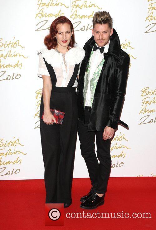 The British Fashion Awards 2010 held at the...