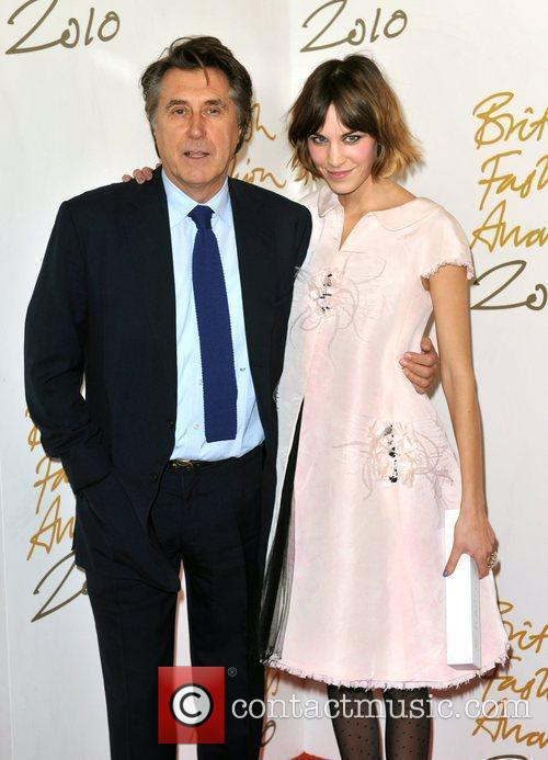 Brian Ferry and Alexa Chung
