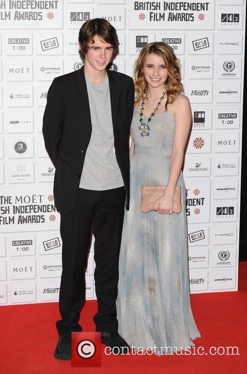 Freddie Highmore and Emma Roberts 1