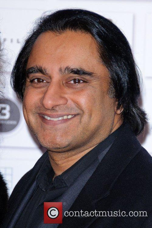 Sanjeev Bhaskar and Andrea Riseborough