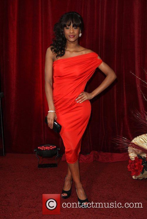 Tiana Benjamin 2010 British Soap Awards held at...