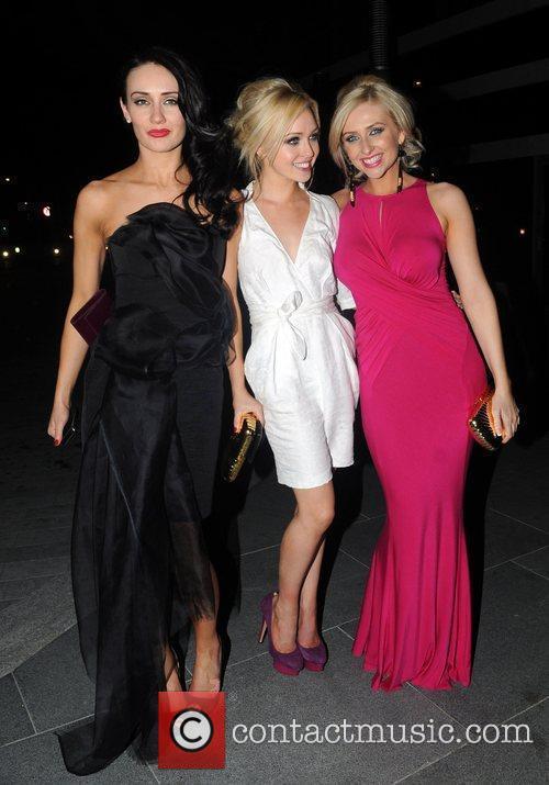 Claire Cooper, Jorgie Porter and Gemma Merna 2010...