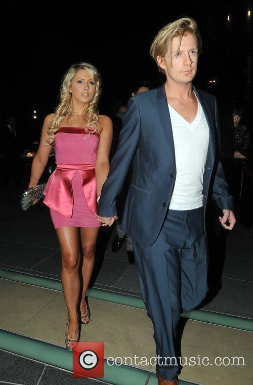 Gerard McCarthy and guest 2010 British Soap Awards...