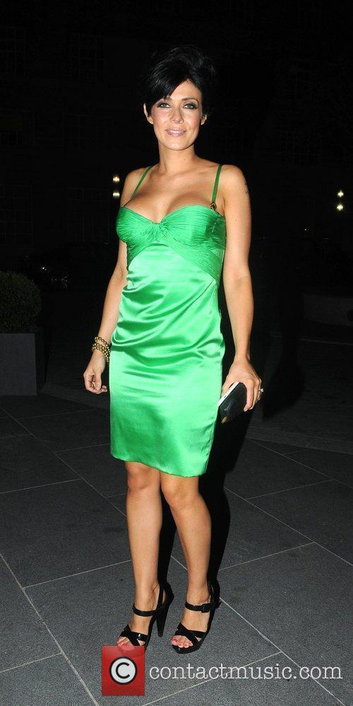 Kym Marsh 2010 British Soap Awards After Party...