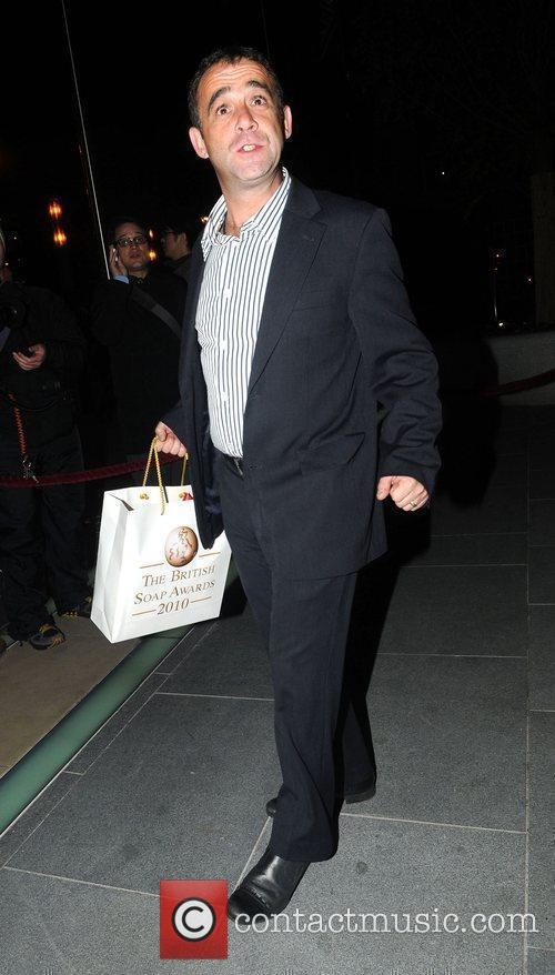Michael Le Vell 2010 British Soap Awards After...