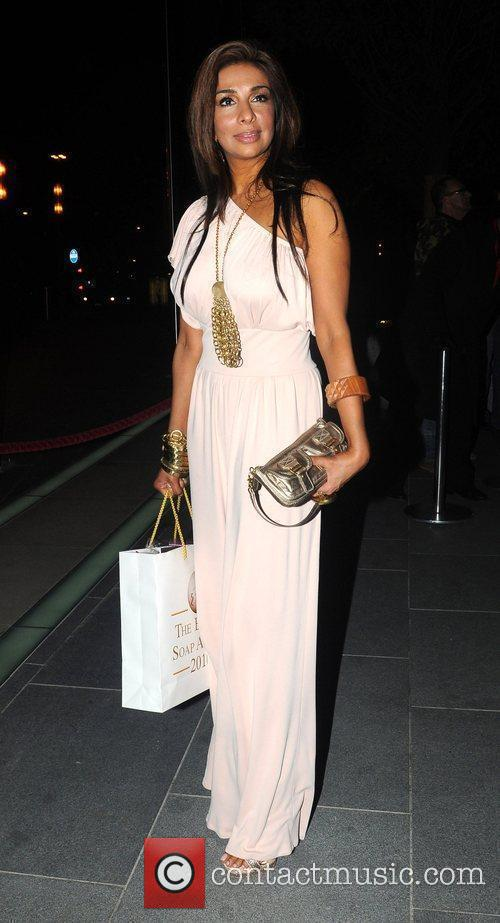 Shobna Gulati 2010 British Soap Awards After Party...