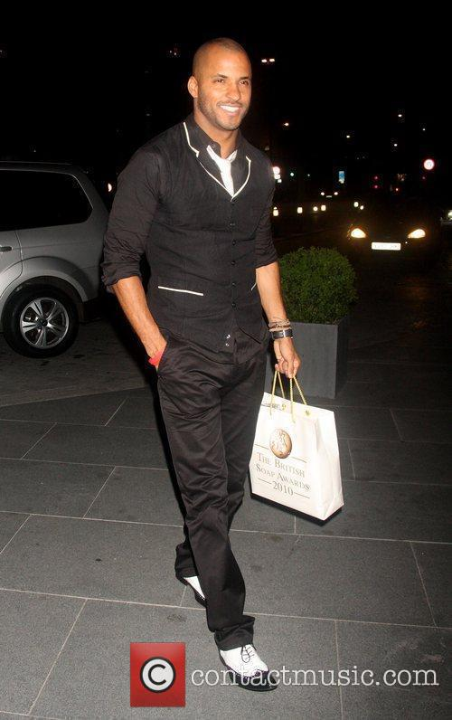 Ricky Whittle 2010 British Soap Awards After Party...