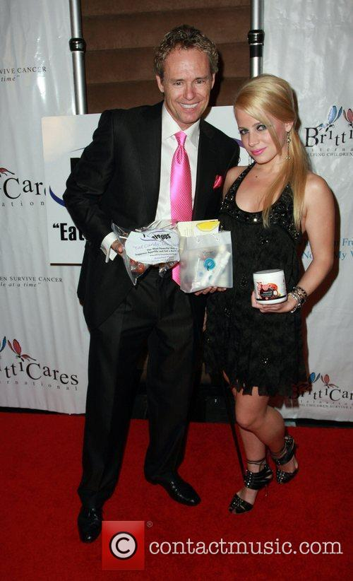 Jaimie Hilfiger and Ms. California Tami Farrell attends...