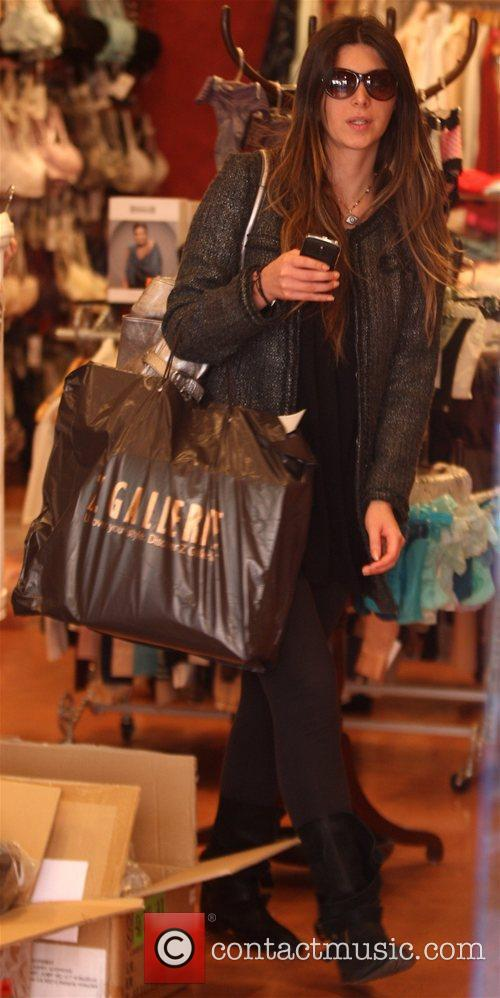 Brittny Gastineau out shopping with her mother at...