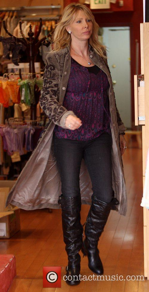 Lisa Gastineau out shopping with her daughter at...